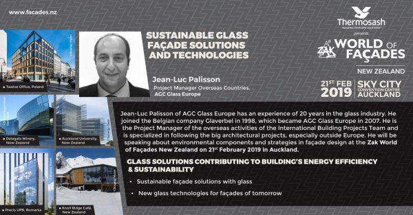 AGC at ZAK World of Facade in New Zealand