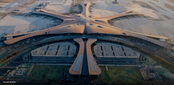 Bejing Airport - Incredible design by Zaha Hadid
