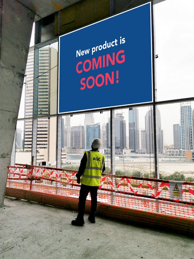 Stay tuned: new product is coming soon